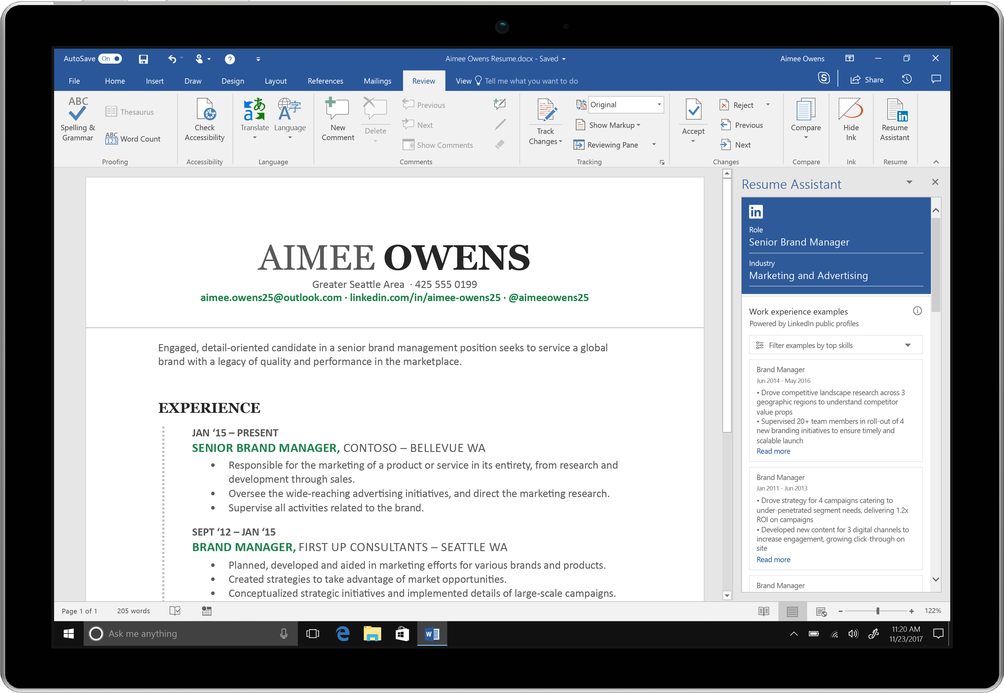 87286_Word_Review_ResumeAssistant_unfilterednew_Surface_m6